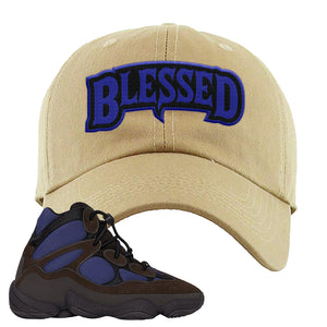 Yeezy 500 High Tyrian Dad Hat | Khaki, Blessed Arch