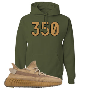 Yeezy Boost 350 V2 Earth Sneaker Hoodie To Match | 350, Military Green
