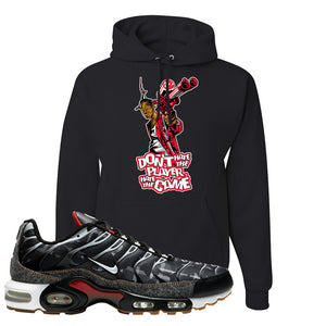Air Max Plus Remix Pack Hoodie | Don't Hate The Playa, Black
