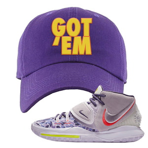 Kyrie 6 Asia Irving Dad Hat | Got Em, Purple