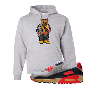Air Max 90 Infrared Hoodie | Sweater Bear, Ash