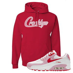 Air Max 90 Love Letter Hoodie | Crooklyn, Red