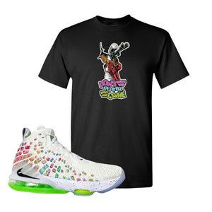 Lebron 17 Air Command Force T Shirt | Don't Hate The Player, Black