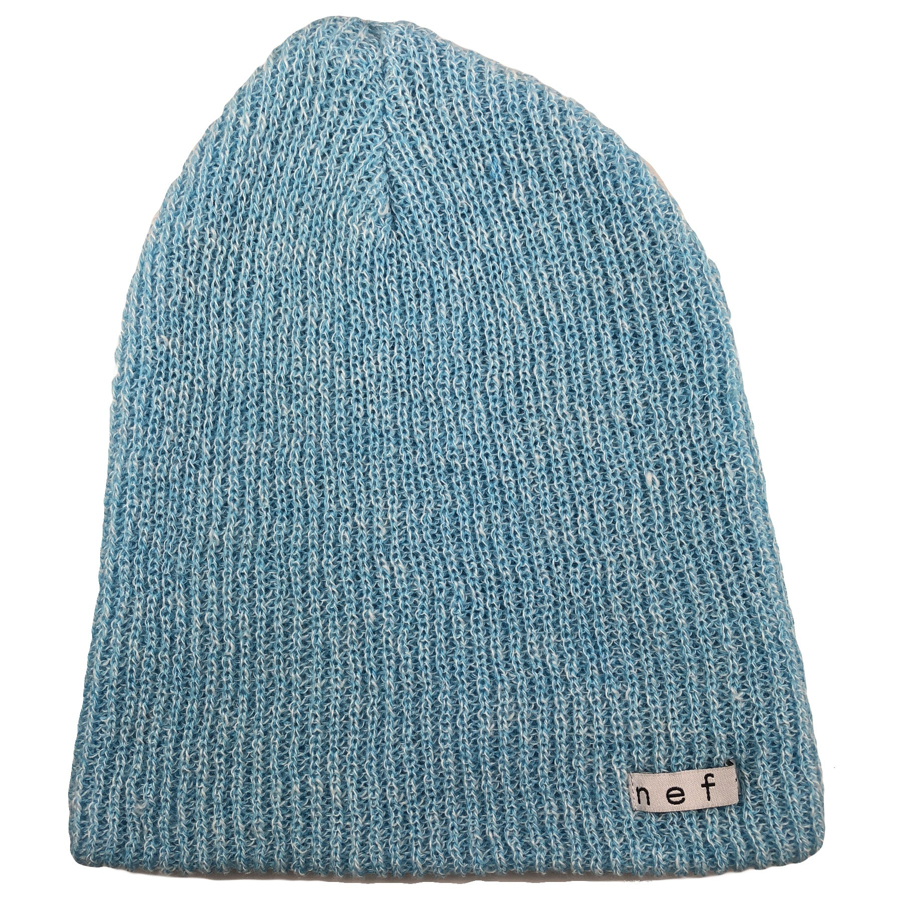 e6e82fb6815168 the heather blue neff knit beanie has a light blue color and a loose-knit