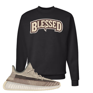 Yeezy 350 v2 Zyon Crewneck | Black, Blessed Arch