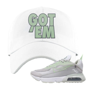 Air Max 2090 'Vast Gray' Dad Hat | White, Got Em