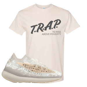 Yeezy Boost 380 'Pepper' T Shirt | Natural, Trap To Rise Above Poverty