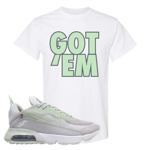 Air Max 2090 'Vast Gray' T Shirt | White, Got Em