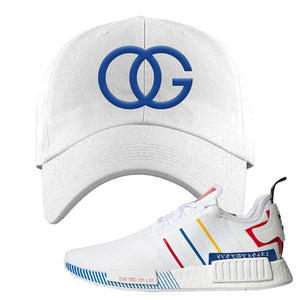 NMD R1 Olympic Pack Dad Hat | White, OG