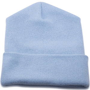 Sky Blue Winter Knit Beanie