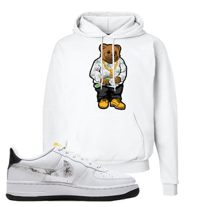 Air Force 1 Hoodie | White, Sweater Bear