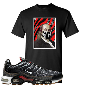 Air Max Plus Remix Pack T Shirt | Ben Franklin Mask, Black