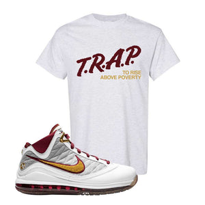 LeBron 7 MVP T Shirt | Ash, Trap To Rise Above Poverty