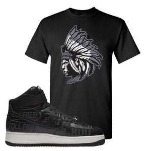 Air Force 1 High Hotline T Shirt | Indian Chief, Black