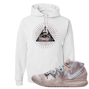 Nike Kybrid S2 What The Inline Pullover Hoodie | All Seeing Eye, White