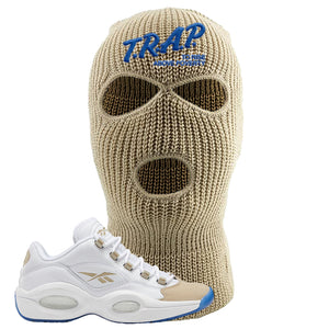 Reebok Question Low Oatmeal Dad Hat | Khaki, Trap To Rise Above Poverty