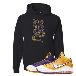 Lebron 7 'Media Day' Hoodie | Black, Coiled Snake