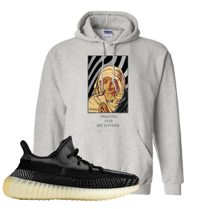 Yeezy Boost 350 v2 Carbon Hoodie | God Told Me, Ash