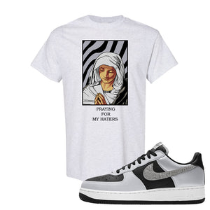 Air Force 1 3M Snake T Shirt | God Told Me, Ash