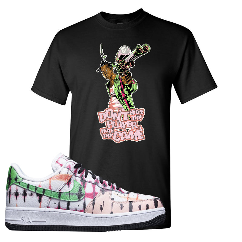 Air Force 1 Low Multi-Colored Tie-Dye T Shirt | Black, Don't Hate The Playa