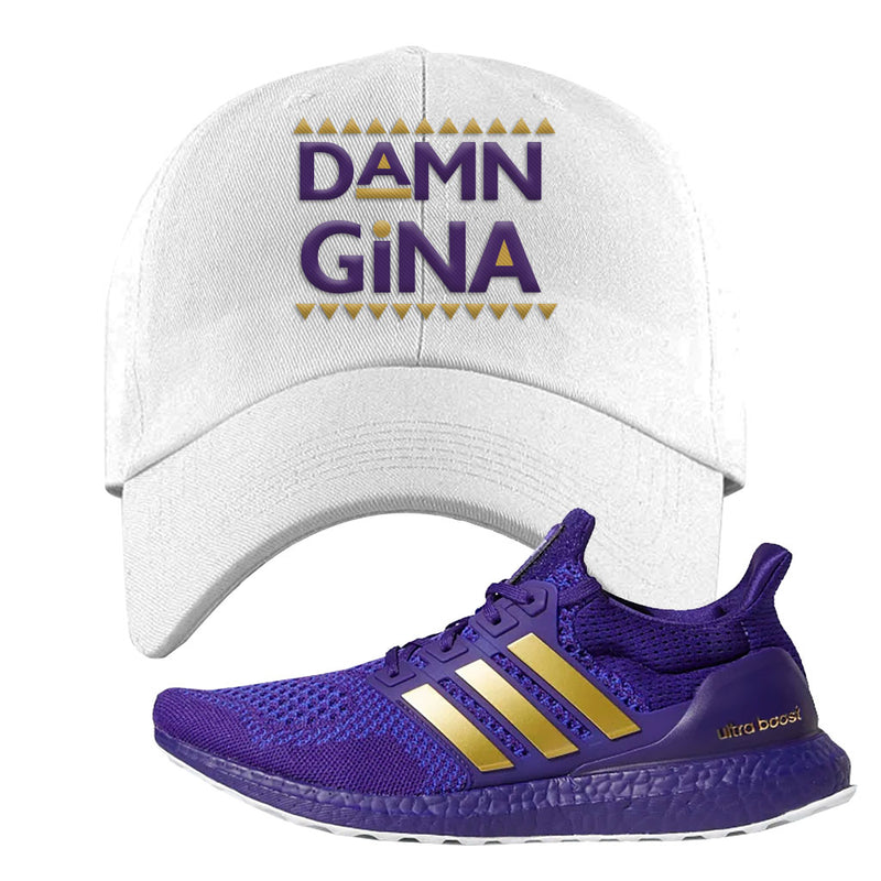 Ultra Boost 1.0 Washington Dad Hat | Damn Gina, White