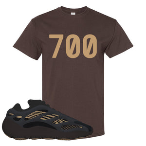 Yeezy 700 v3 Eremial T Shirt | 700, Dark Chocolate