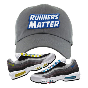 Air Max 95 QS Greedy Dad Hat | Dark Gray, Runners Matter