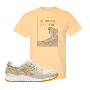 GEL-Lyte III 'Monozukuri Pack' T Shirt | Yellow Haze, Be Water My Friend Wave