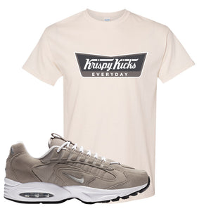 Air Max Triax 96 Grey Suede T Shirt | Krispy Kicks, Natural