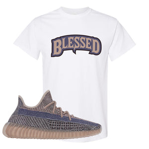 Yeezy Boost 350 V2 Fade T-Shirt | Blessed Arch, White