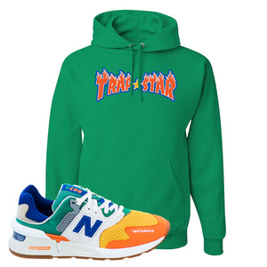 997S Multicolor Sneaker Kelly Pullover Hoodies | Hoodies to match New Balance 997S Multicolor Shoes | Trap Star