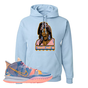 Kyrie 7 Expressions Hoodie | Oh My Goodness, Light Blue