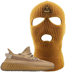 Yeezy Boost 350 V2 Earth Sneaker Ski Mask To Match | All Seeing Eye, Timberland