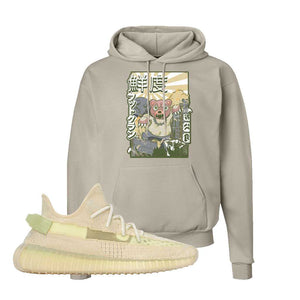 Yeezy Boost 350 V2 Flax Hoodie | Sand, Attack of the Bear