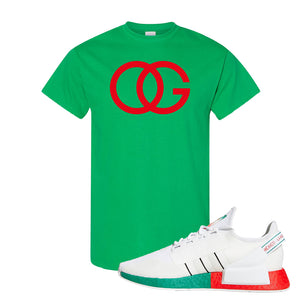NMD R1 V2 Ciudad De Mexico T Shirt | Irish Green, OG