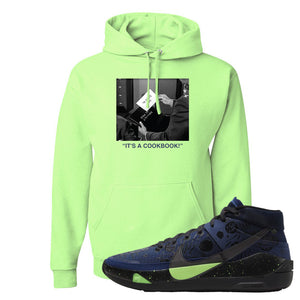 KD 13 Planet of Hoops Hoodie | To Serve Man, Neon Green