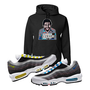 Air Max 95 QS Greedy Hoodie | Black, Escobar Illustration
