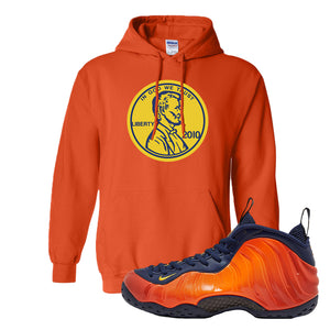 Foamposite One OKC Hoodie | Orange, Penny