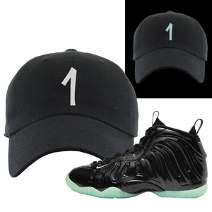Foamposite One 2021 All Star Dad Hat | Penny One, Black