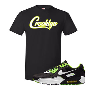 Air Max 90 Exeter Edition Black T Shirt | Crooklyn, Black