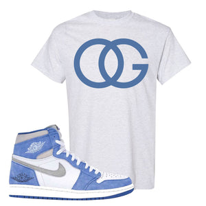 Air Jordan 1 High Hyper Royal T-Shirt | OG, Ash