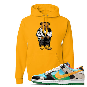 SB Dunk Low 'Chunky Dunky' Hoodie | Gold, Sweater Bear