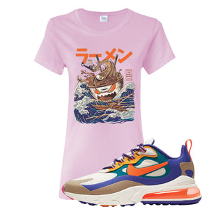 Air Max 270 React ACG Women's T-Shirt | Light Pink, Ramen Monster