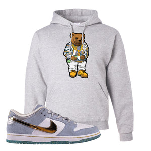 Sean Cliver x SB Dunk Low Hoodie | Sweater Bear, Ash
