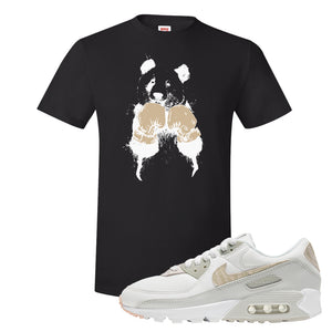 Air Max 90 Zebra Snakeskin T Shirt | Boxing Panda, Black