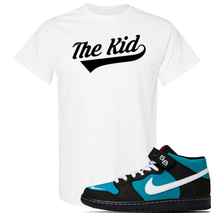 SB Dunk Mid 'Griffey' T Shirt | White, The Kid