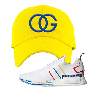 NMD R1 Olympic Pack Dad Hat | Yellow, OG