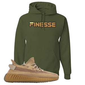 Yeezy Boost 350 V2 Earth Sneaker Hoodie To Match | Finesse, Military Green