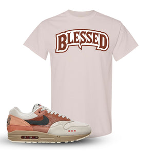 Air Max 1 Amsterdam City Pack Sneaker Natural T Shirt | Tees to match Nike Air Max 1 Amsterdam City Pack Shoes | Blessed Arch