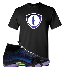 Jordan 14 Doernbecher E Shield Black Sneaker Hook Up T-Shirt